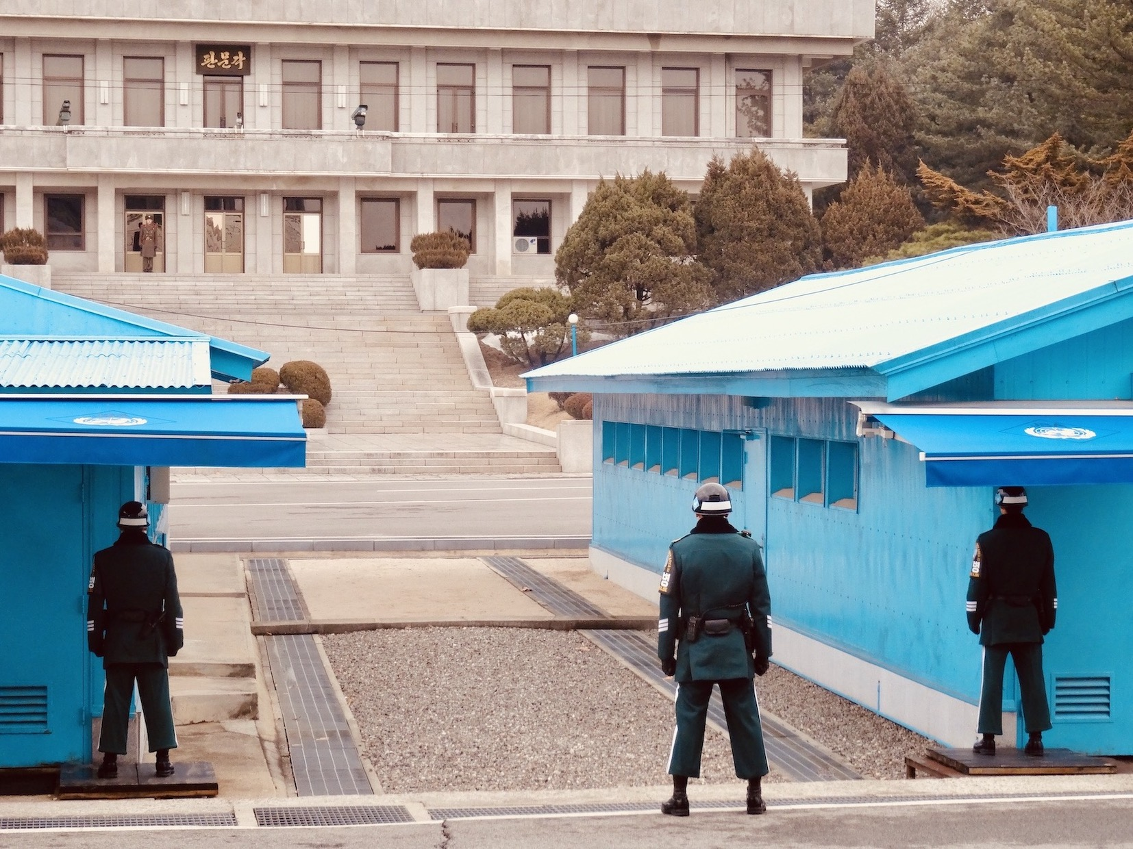 Joint Security Area DMZ South Korea.