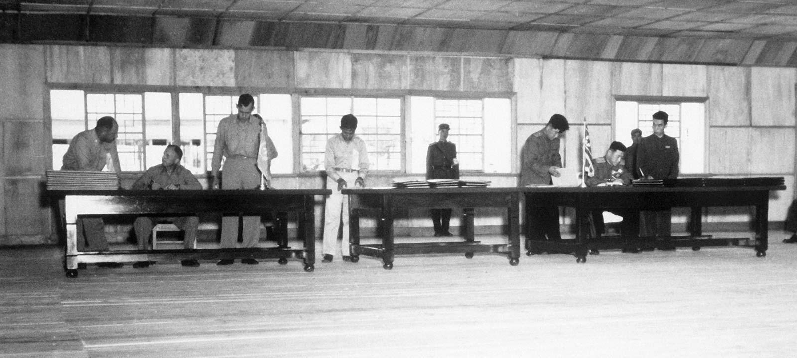 Korean War Armistice Agreement.