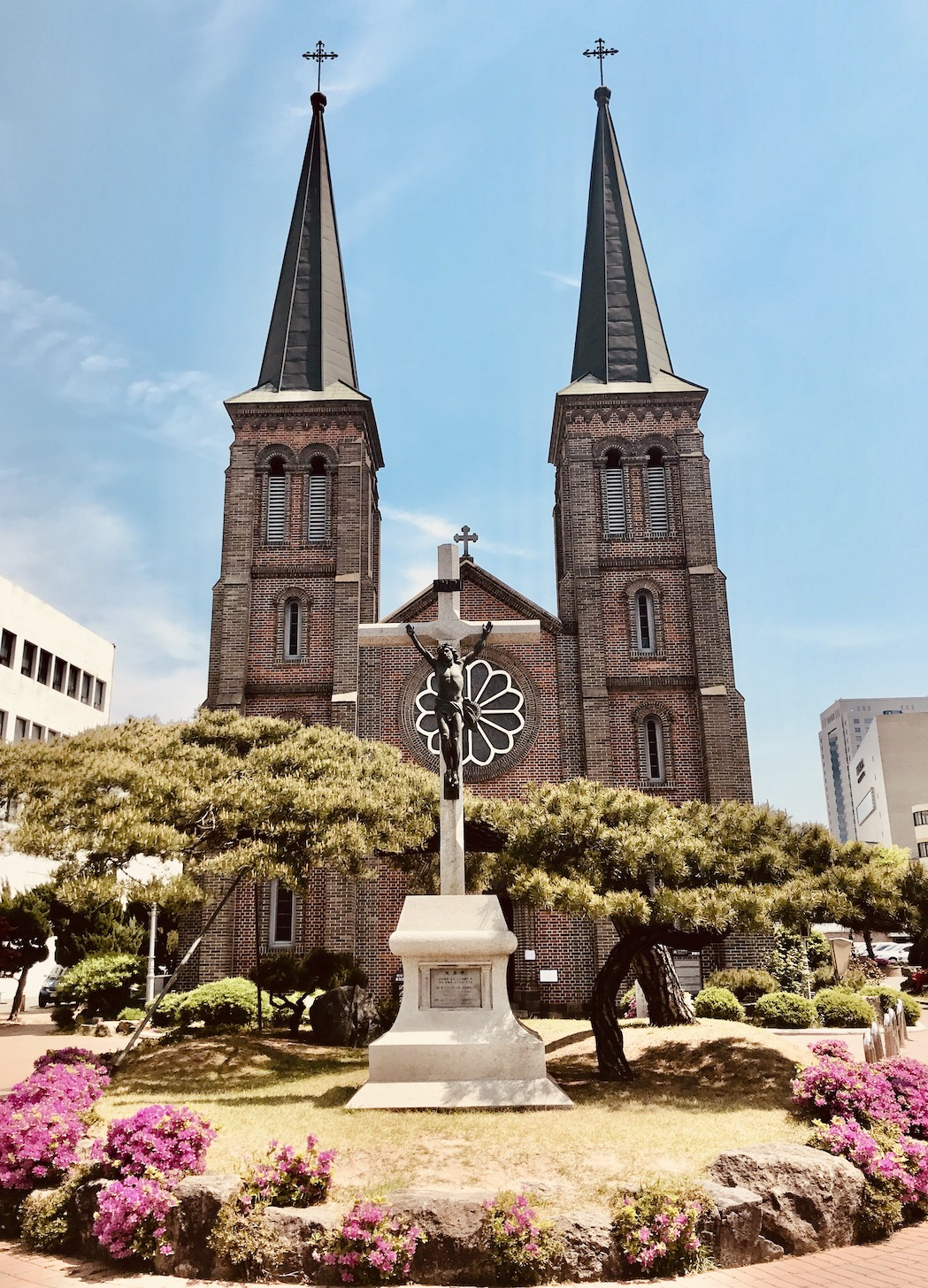 Our Lady of Lourdes Cathedral Daegu.