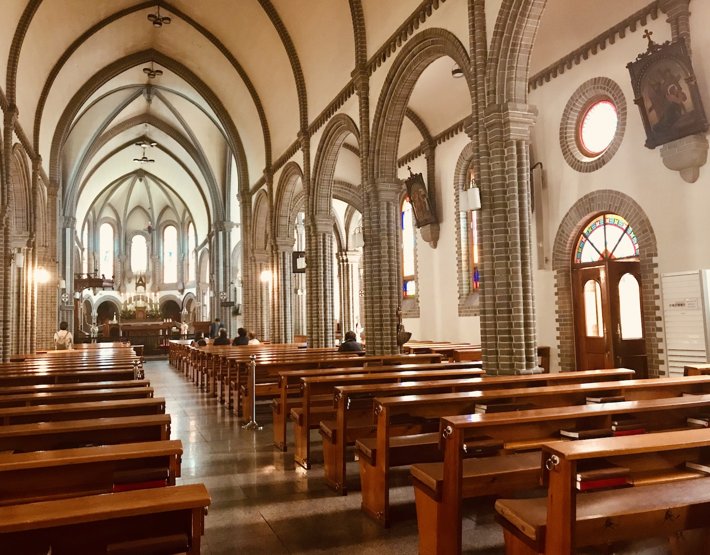 Our Lady of Lourdes Cathedral in Daegu.
