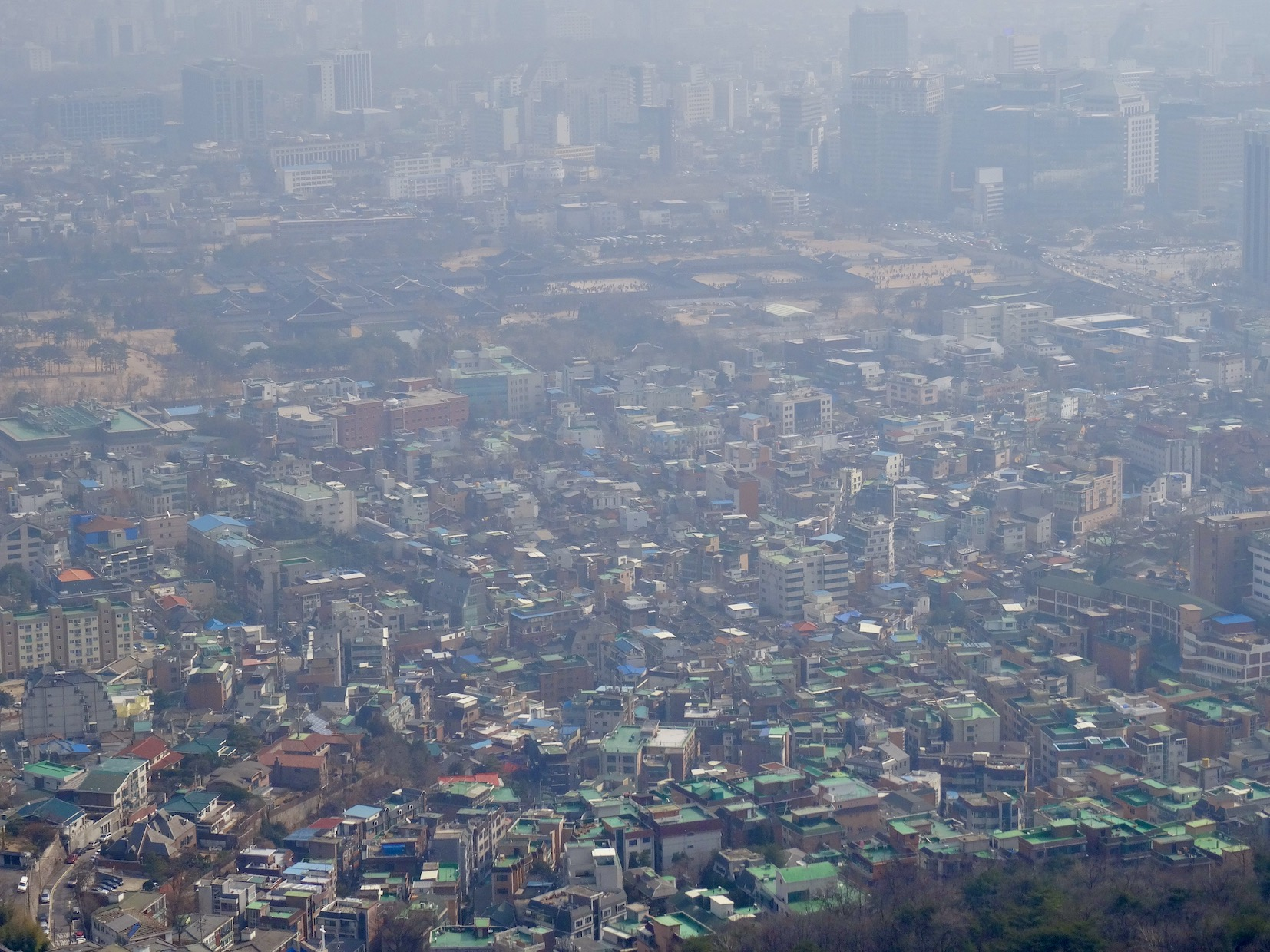 Panoramic Seoul Seoul Korea.