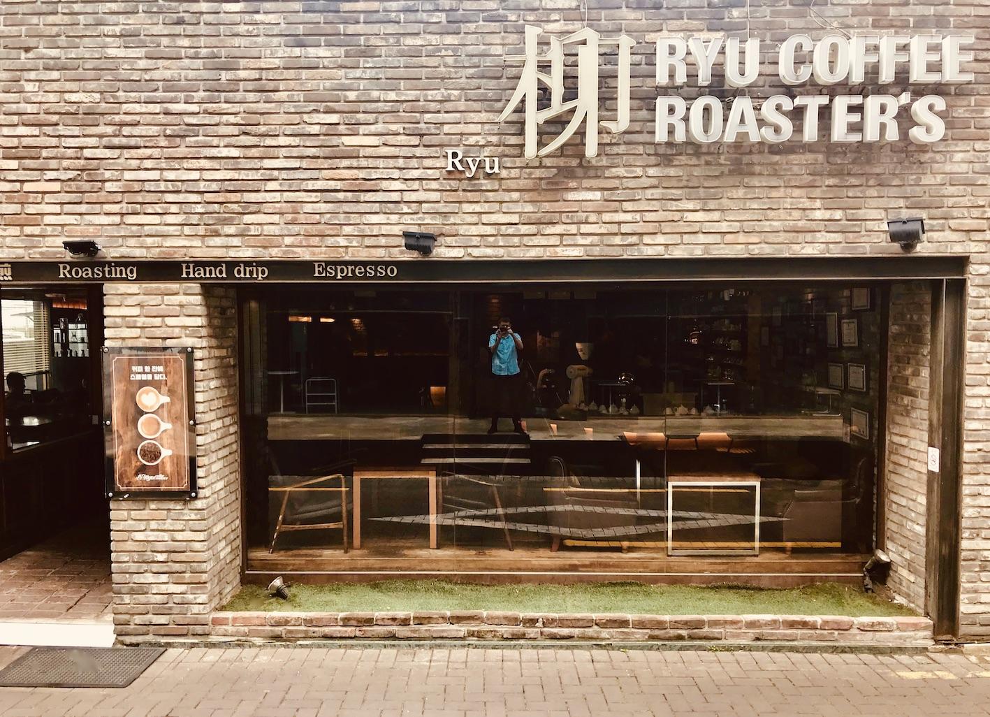 Ryu Coffee Roasters Daegu.