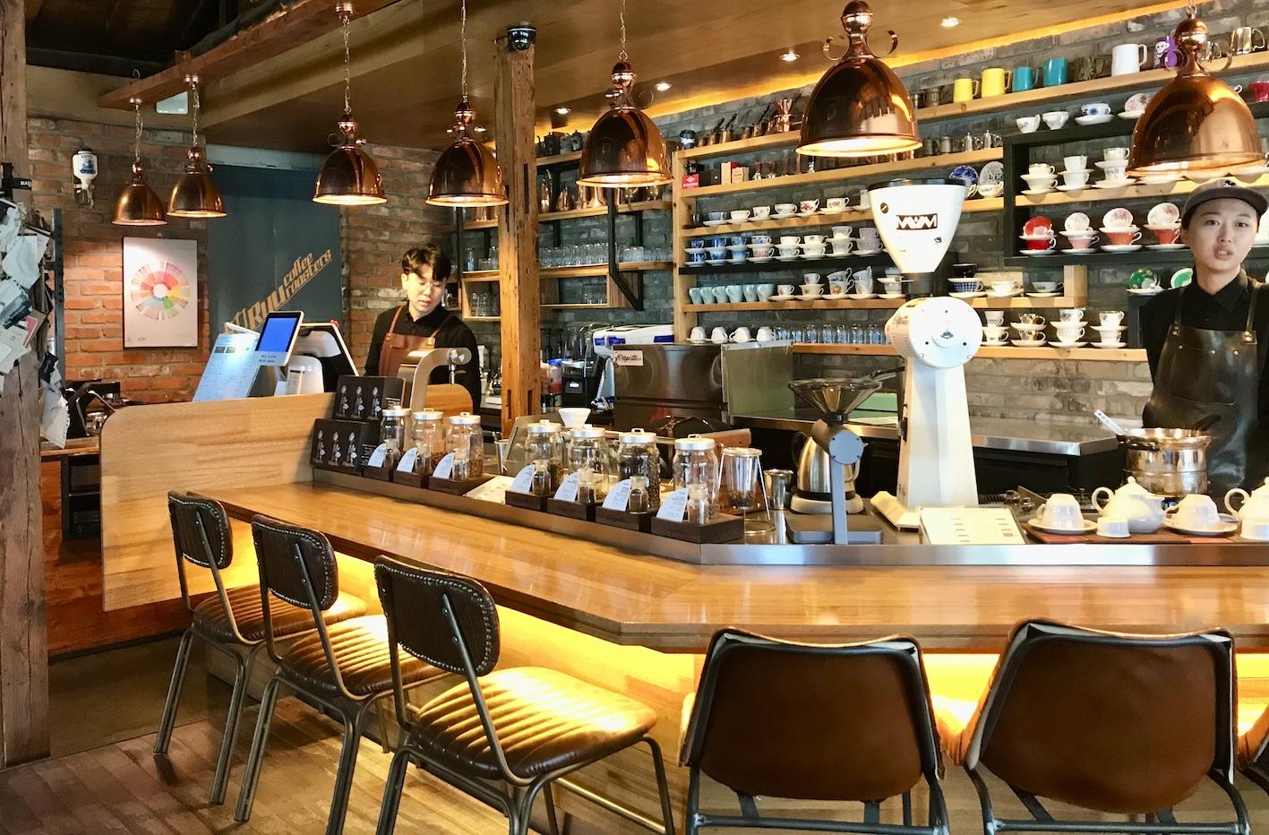 Ryu Coffee Roasters Dongseongno Cafe Alley.
