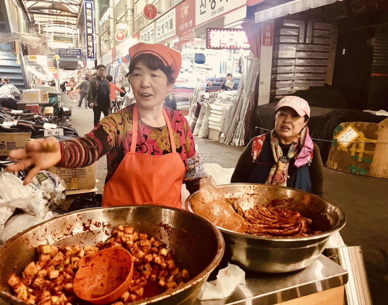 Seomun Night Market.