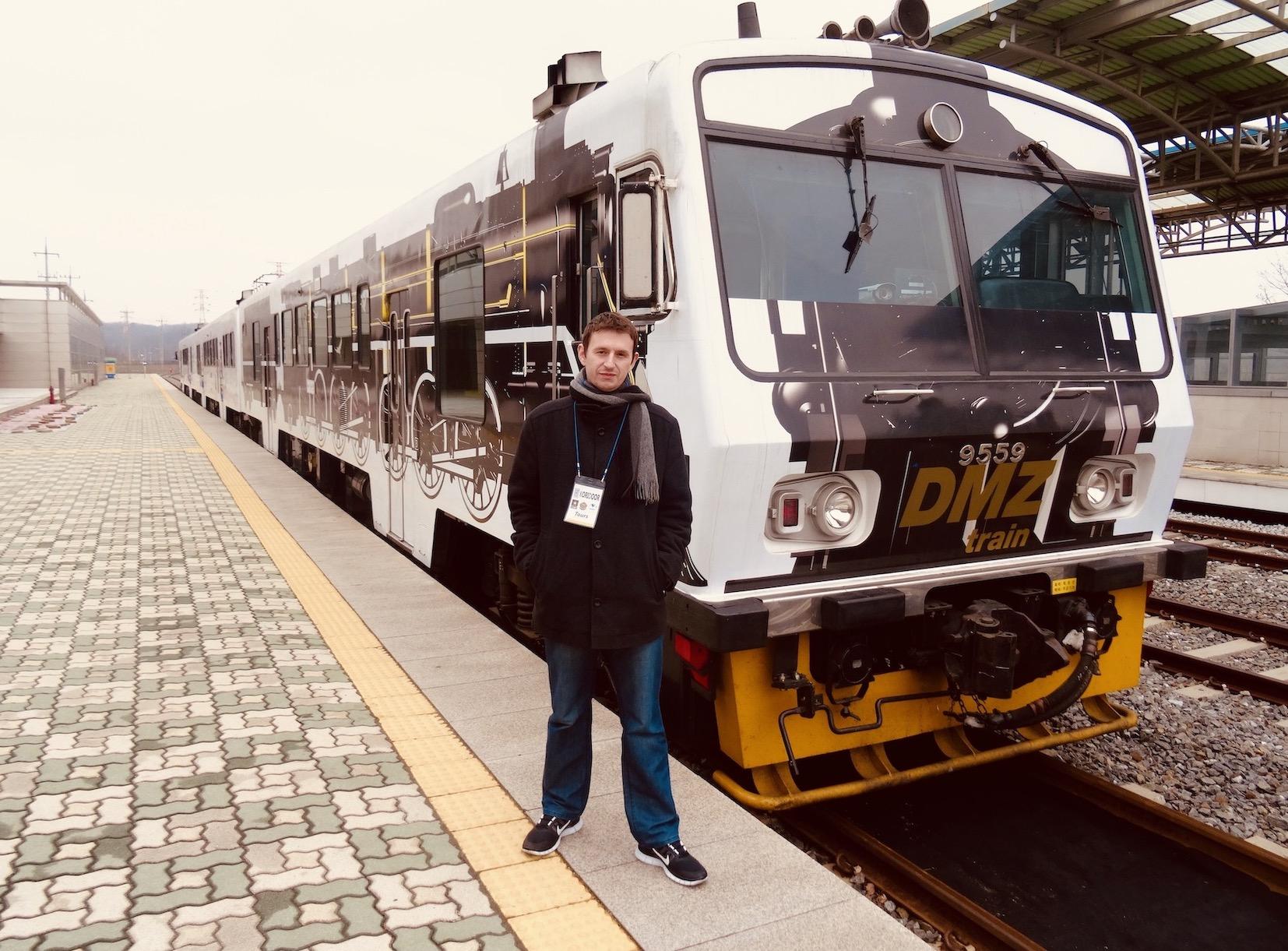 The DMZ Train South Korea.