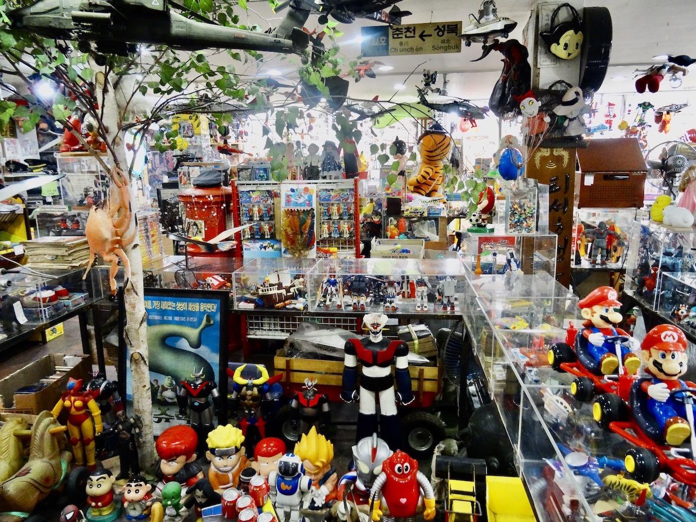 Toto's Nostalgia Museum Seoul.