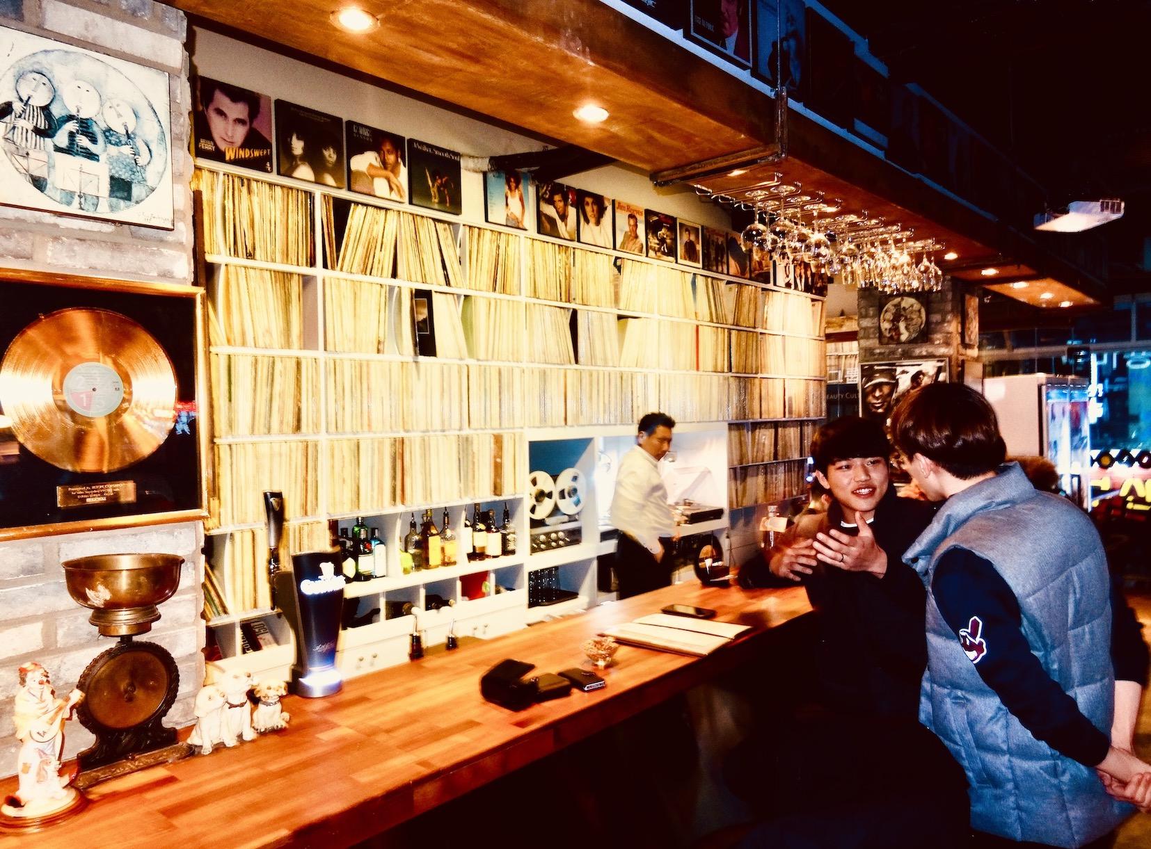 Vinyl Bar Busan.