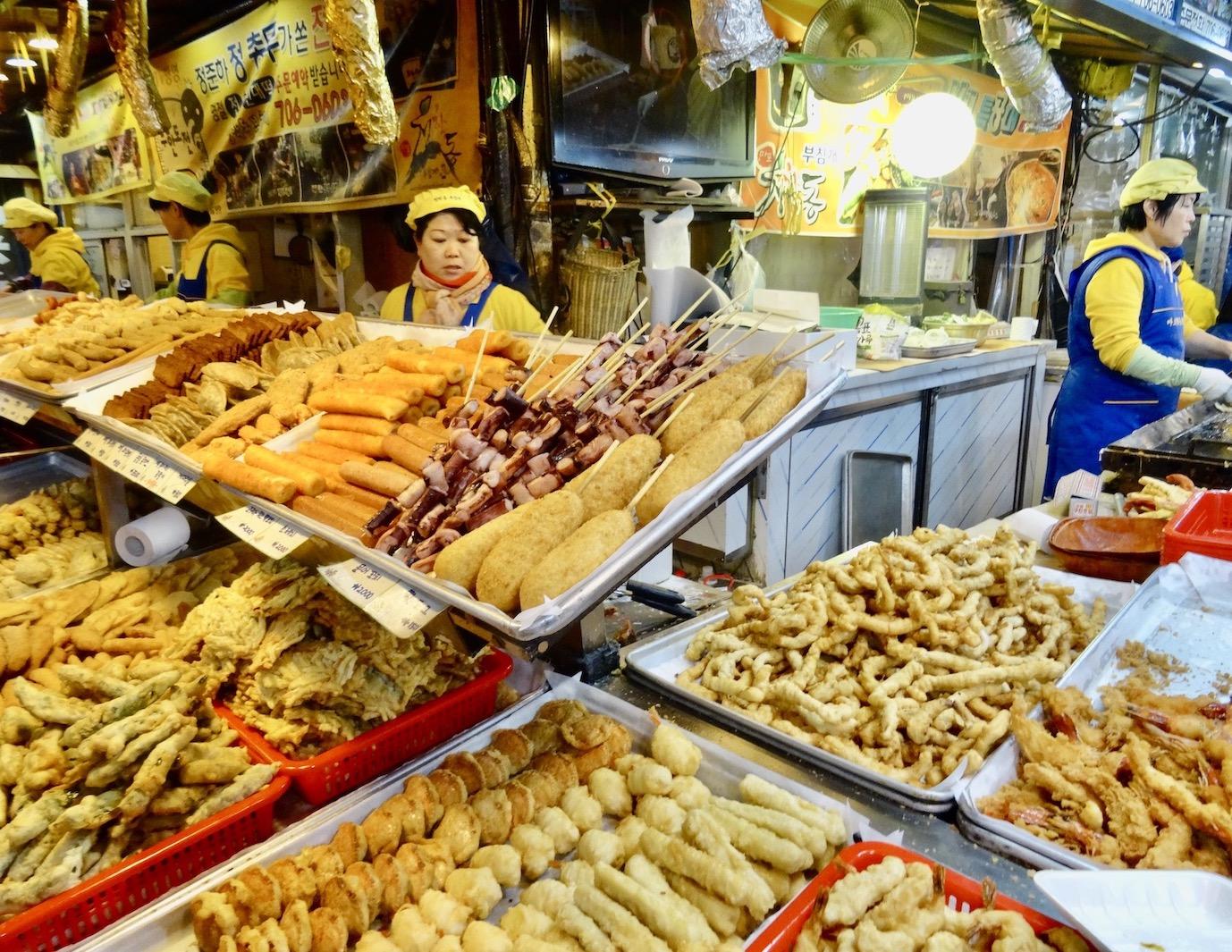 Visit Seoul Gongdeok Market.