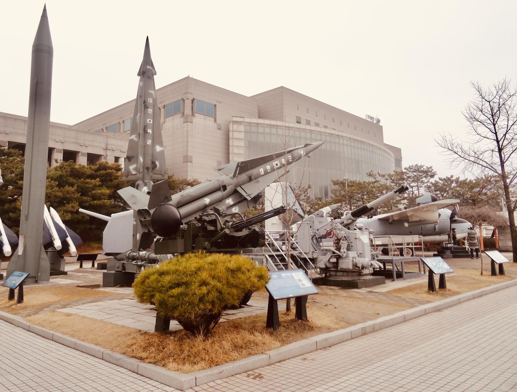 War Memorial of Korea Seoul.