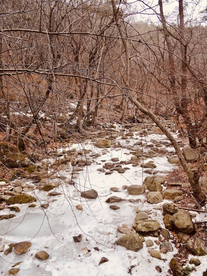 Yongmunsa Mountain South Korea.