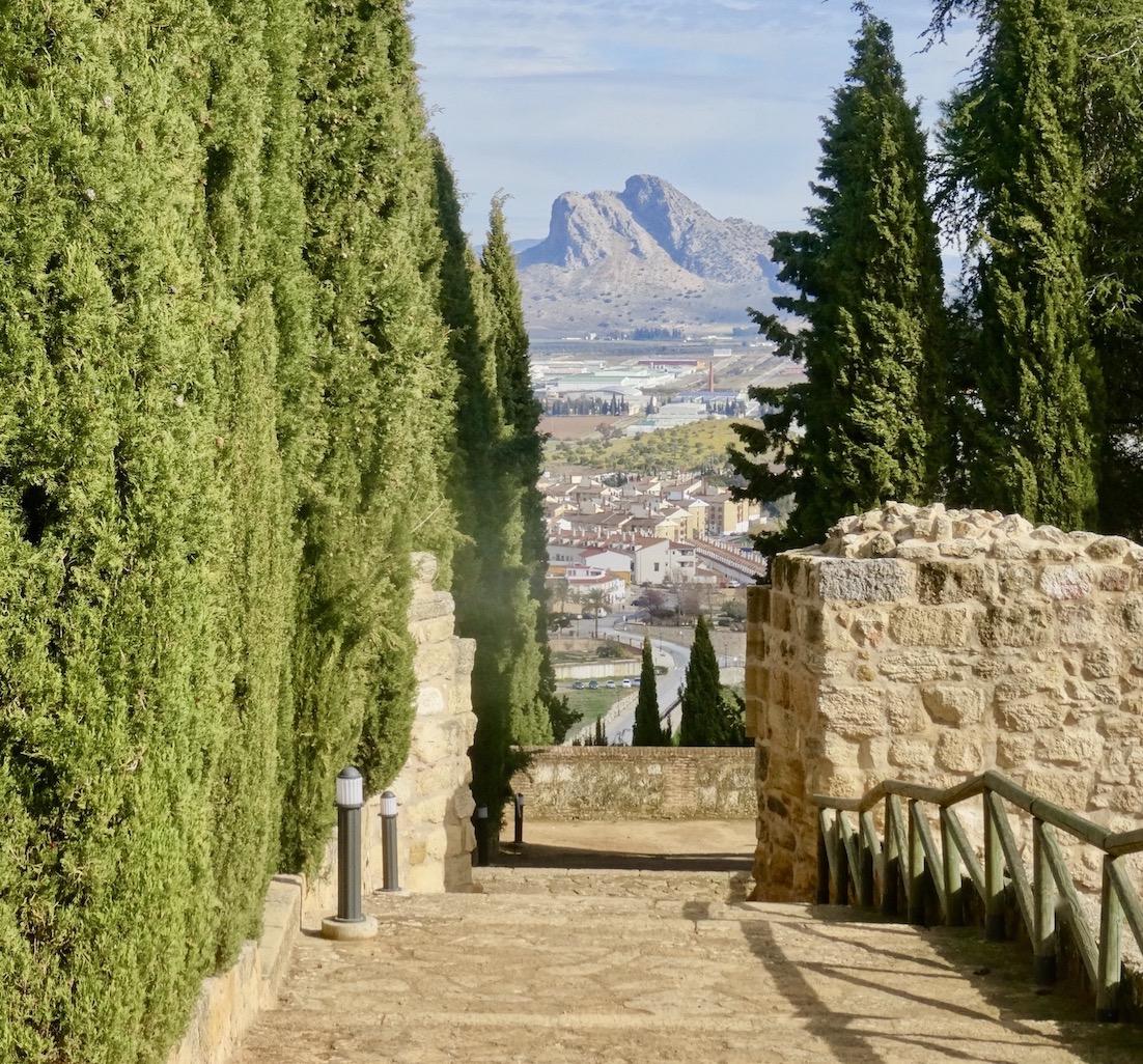 Alcazaba Antequera Spain.