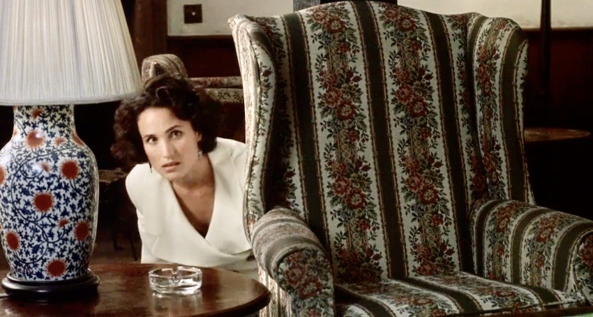 Andie MacDowell Four Weddings and a Funeral.