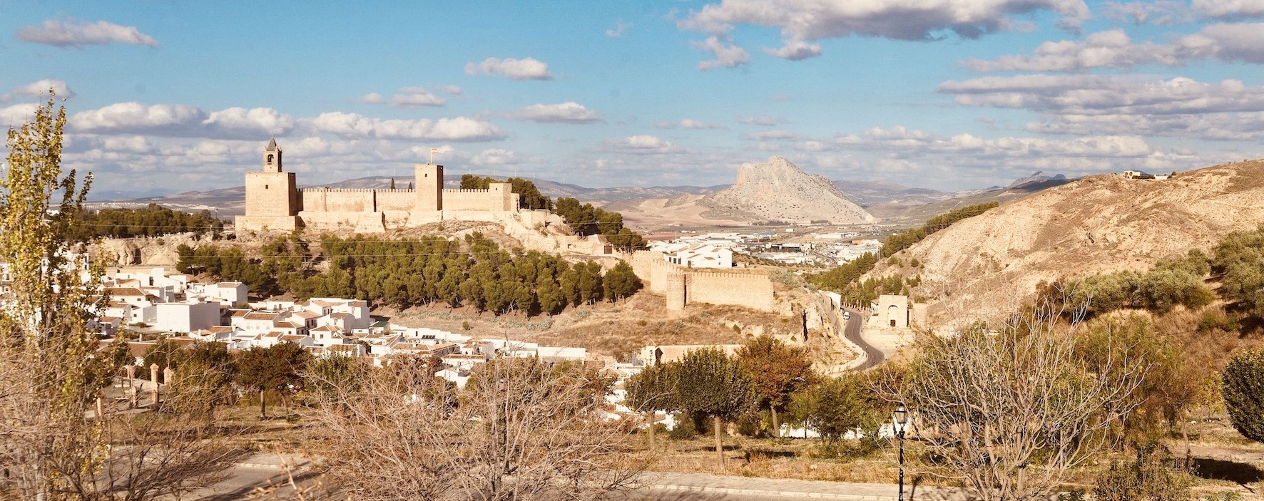 Antequera Alcazaba Andalusia.