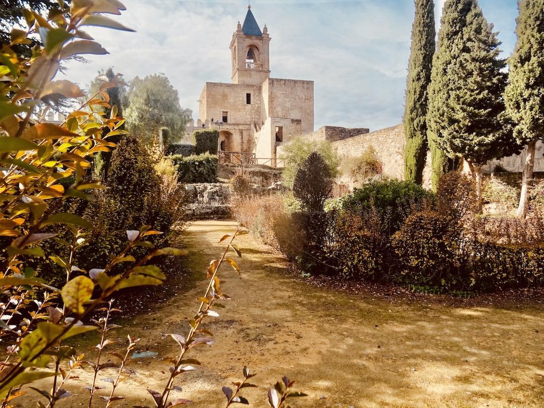 Antequera Alcazaba Fortress Gardens.