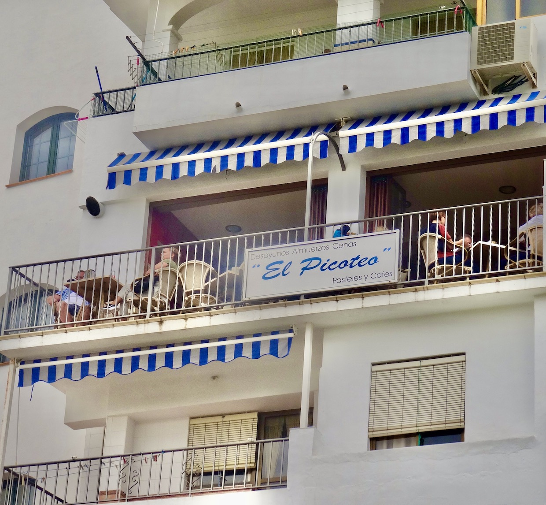 Bar El Picoteo Frigiliana.