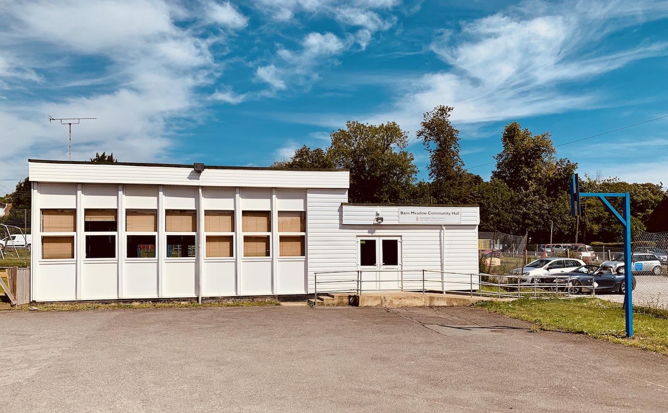Barn Meadow Community Hall.