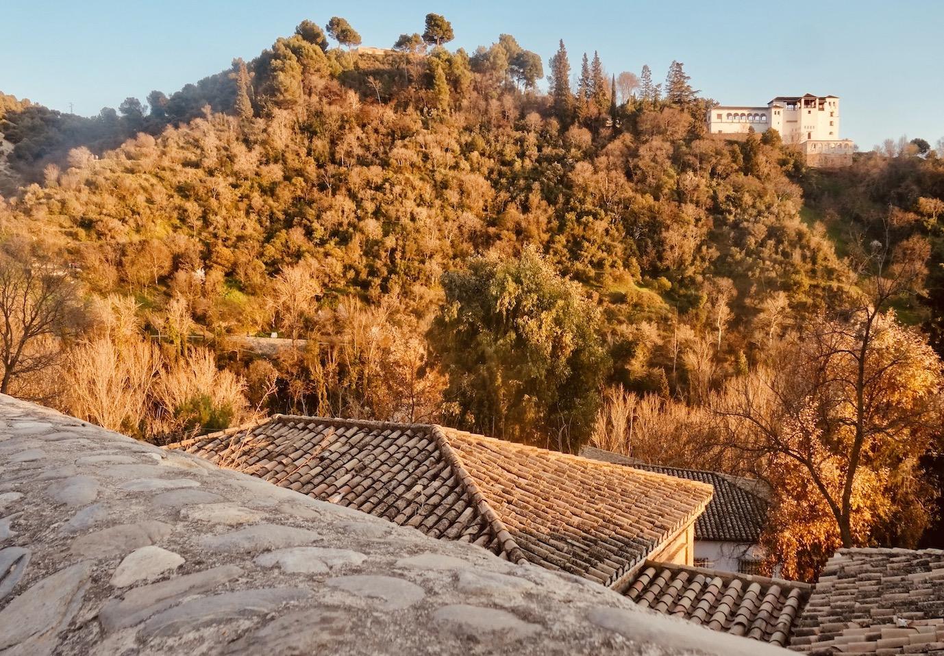 Beautiful Granada Spain.