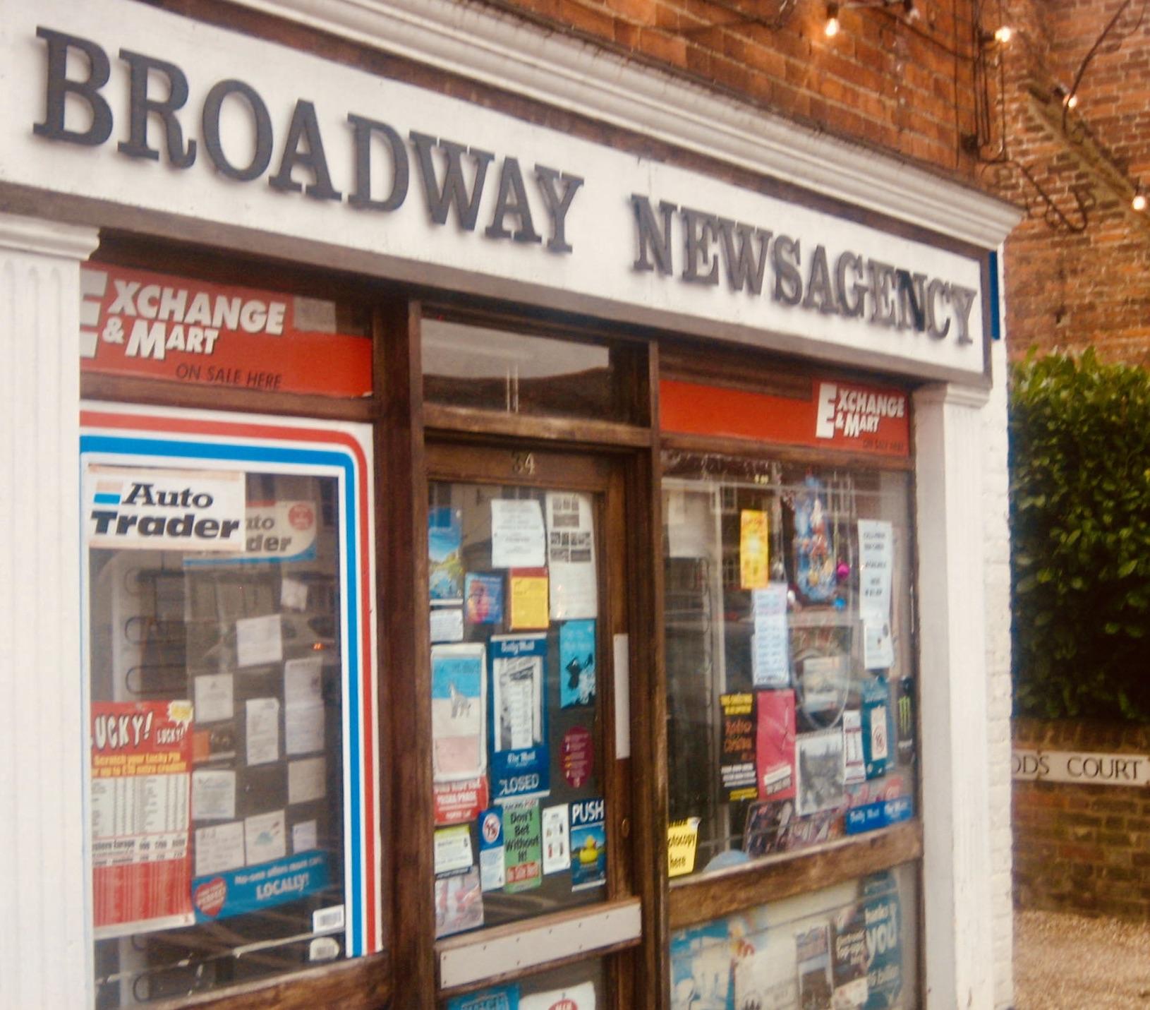 Broadway Newsagency Old Amersham.