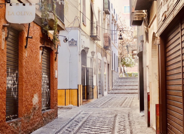 Calle Virgen Del Rosario Granada.