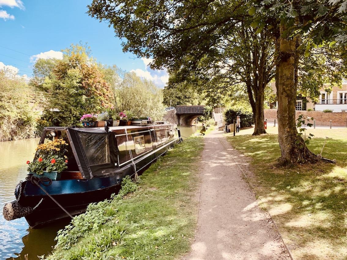 Canal boats Berkhamstead.