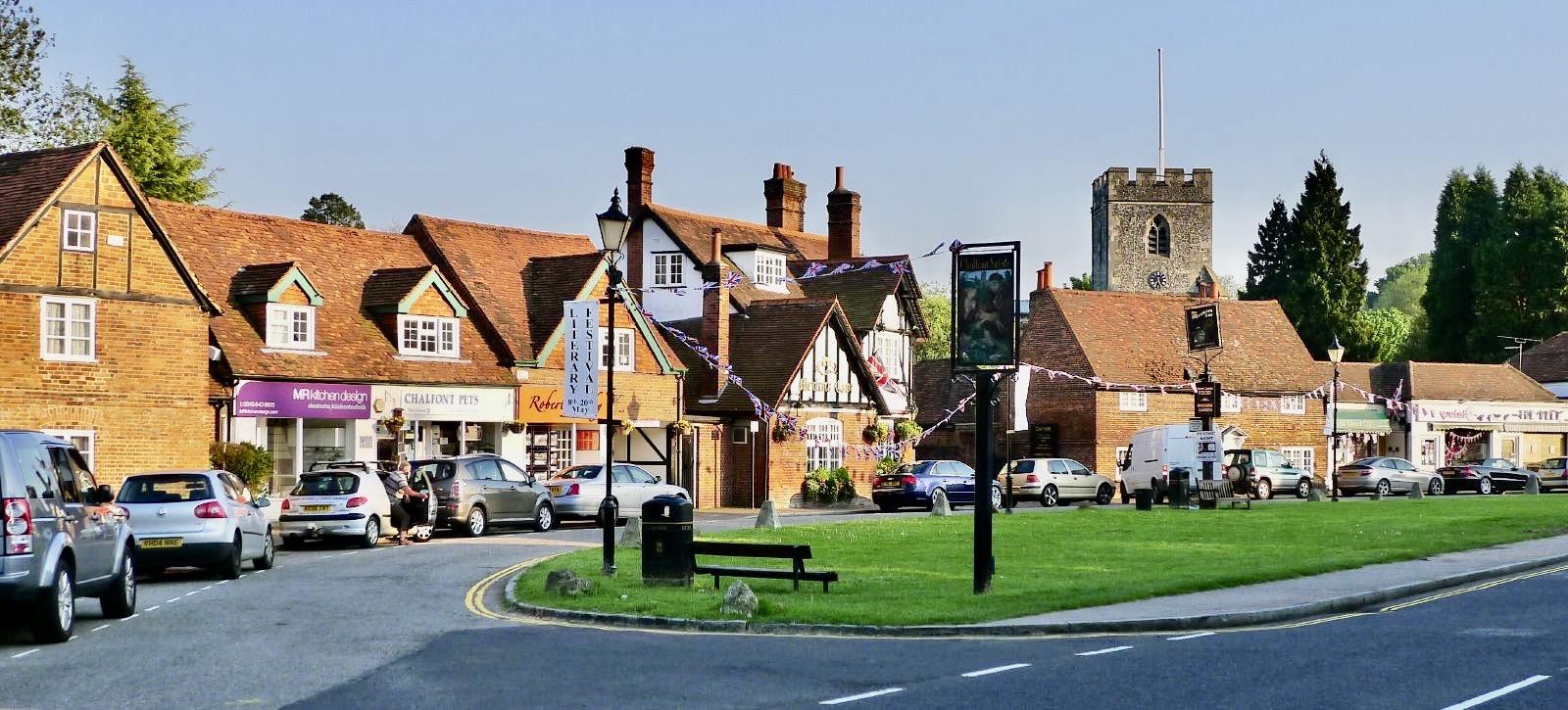 Chalfont St Giles Village England.