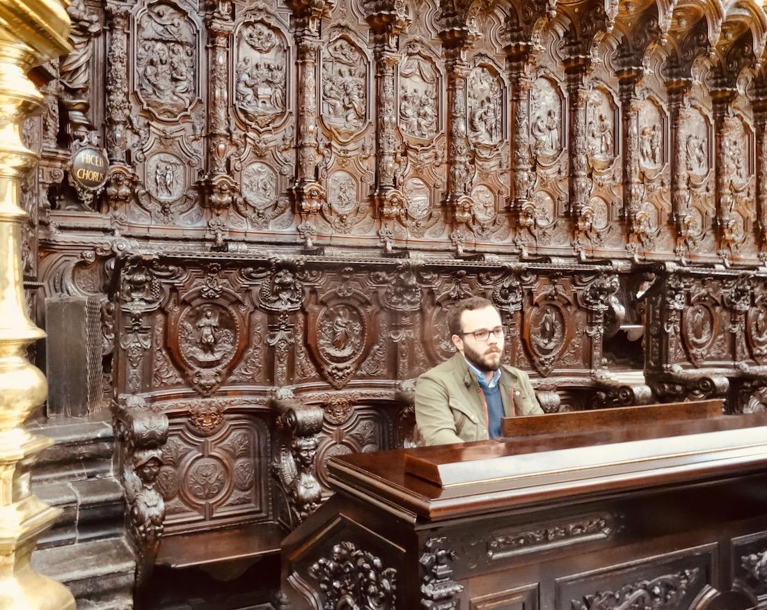Choir Cordoba Cathedral Spain.