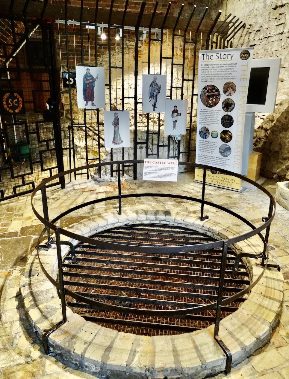 Colchester Castle Well.