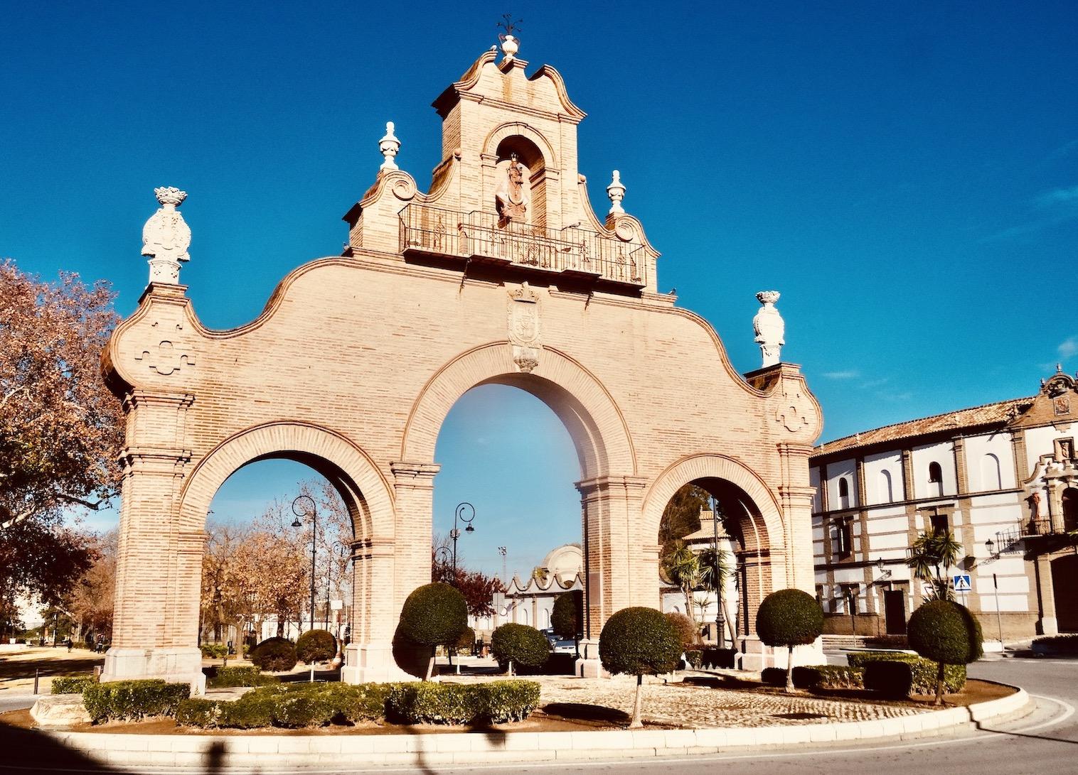 Estepa Gate Antequera Spain.