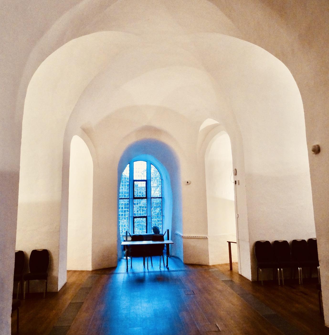 Former chapel, Colchester Castle Museum.