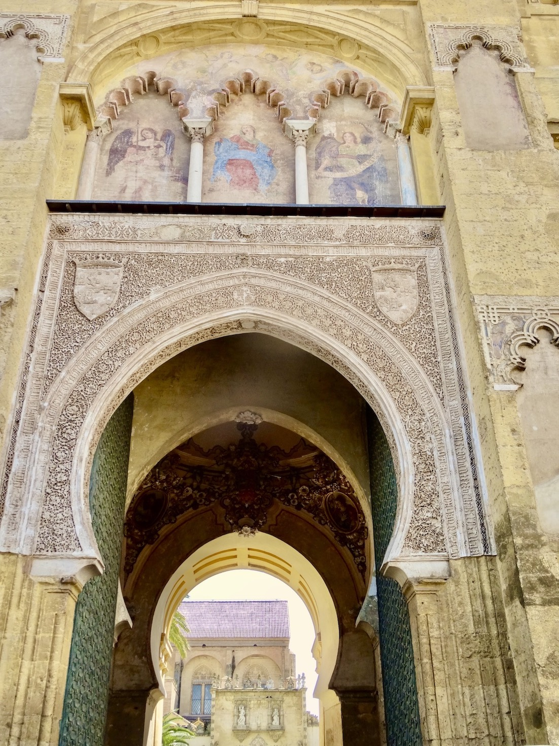 Gate of Forgiveness The Mezquita Cordoba.