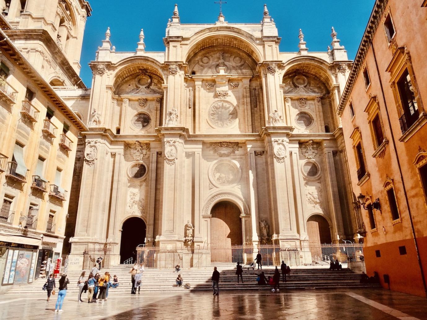 Granada Cathedral Spain.