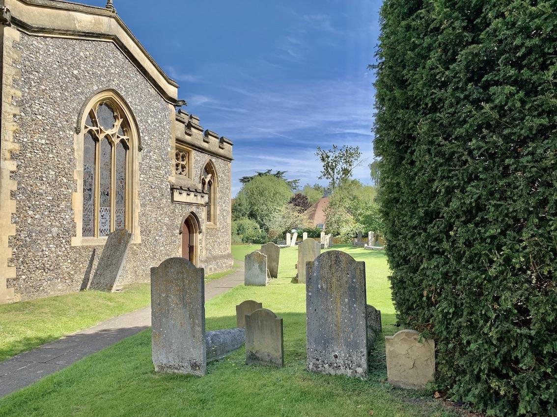 Graveyard at St Mary's Church Old Amersham