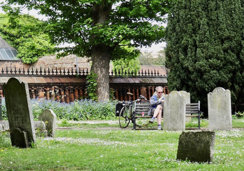 Graveyard in Colchester.