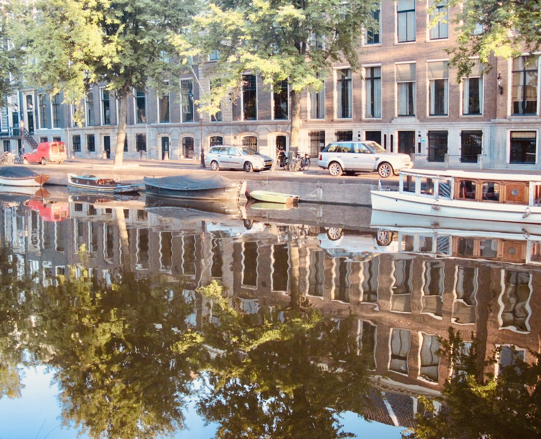 Herengracht canal Amsterdam.