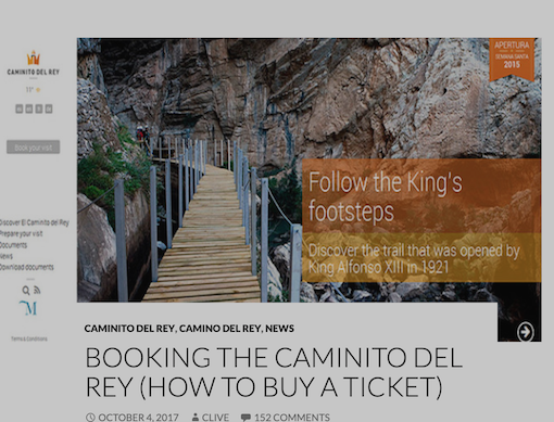 How to Buy a Ticket for El Caminito del Rey