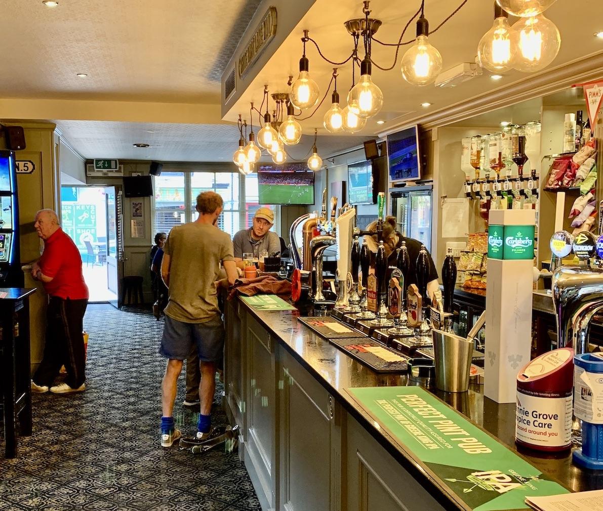 Inside The Generals Arms Pub Chesham.