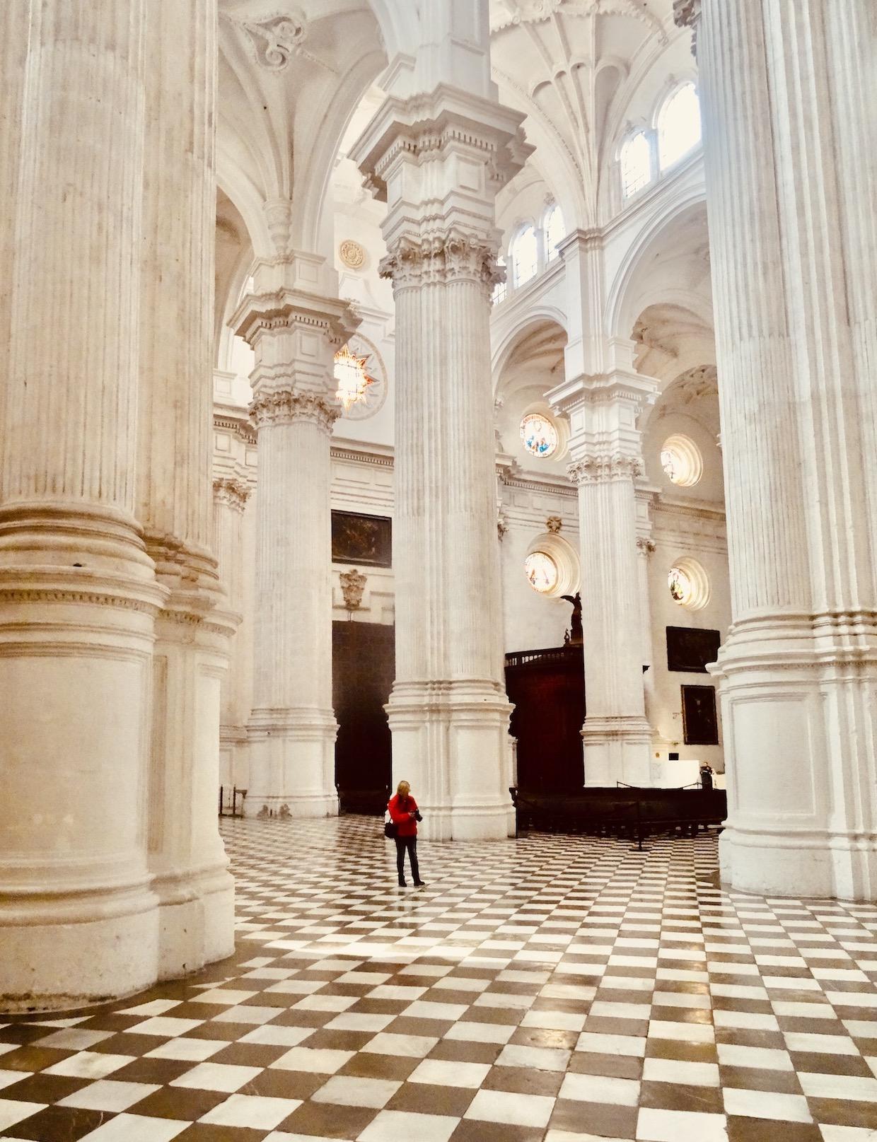 Interior Granada Cathedral.