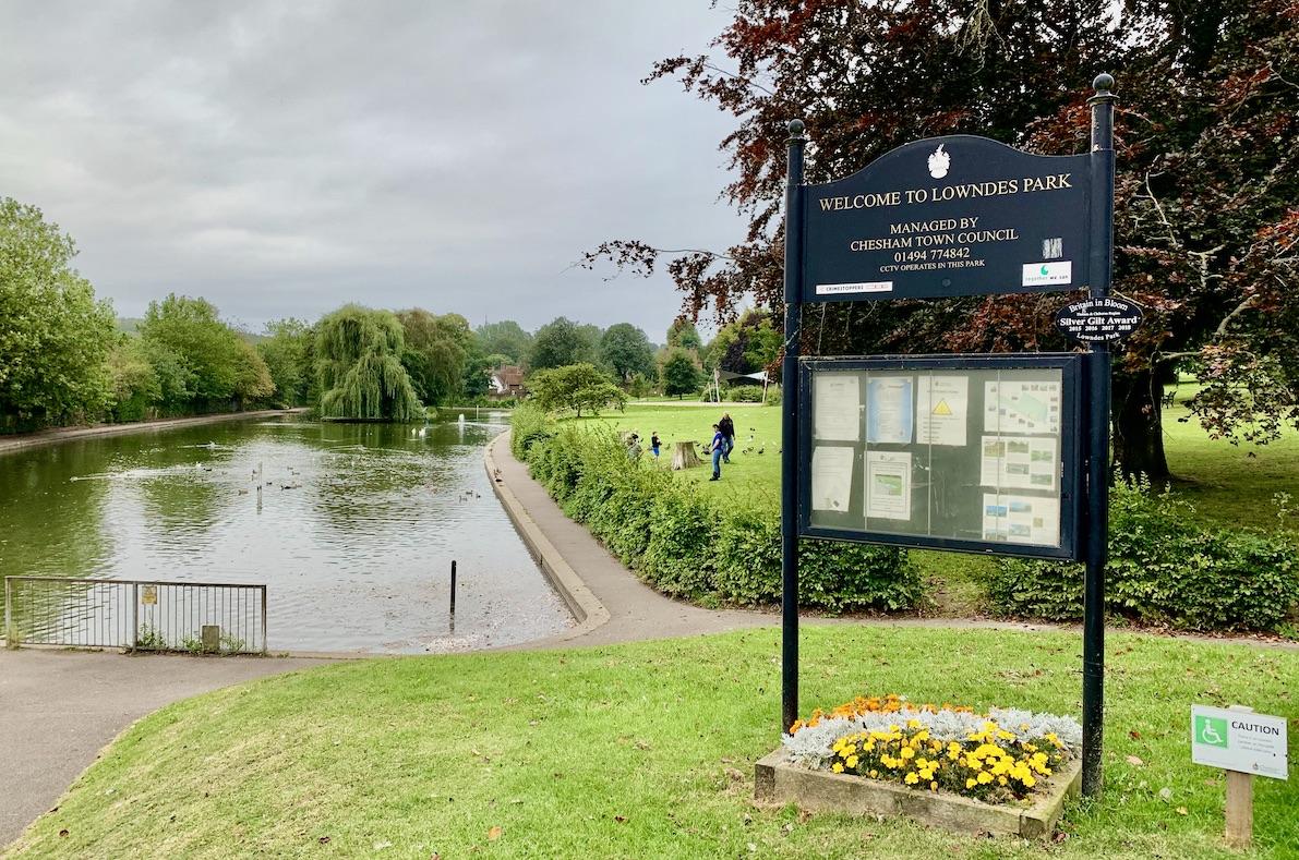 Lowndes Park Chesham England.