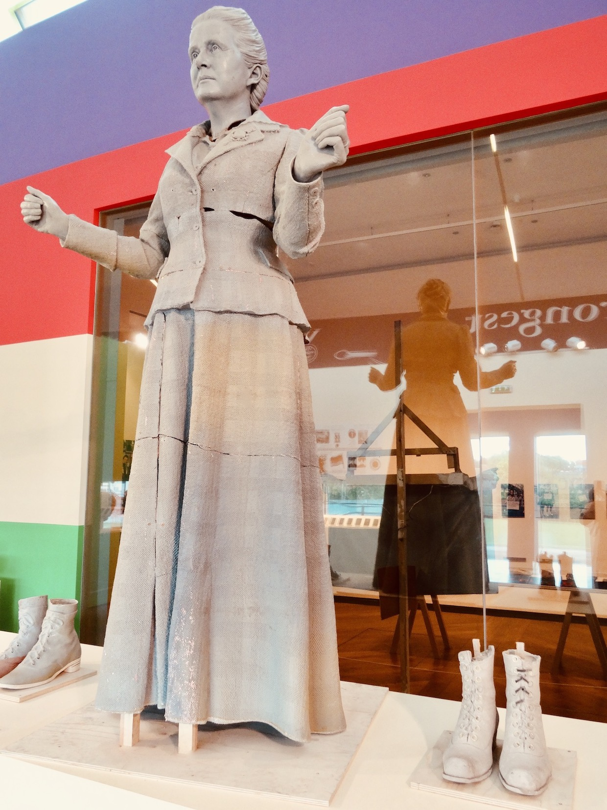 Making of Millicent Fawcett Statue Exhibition