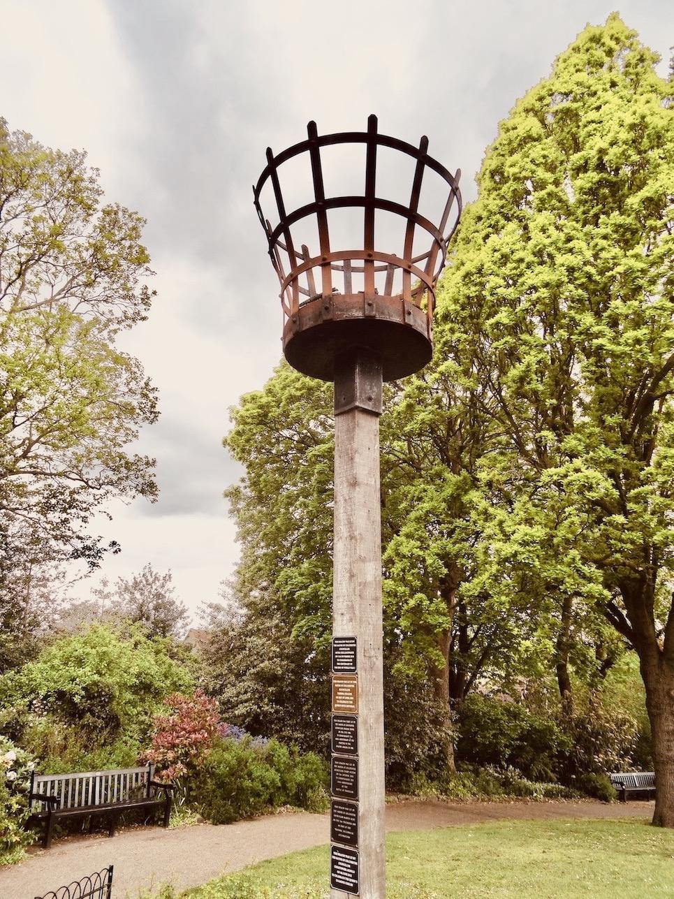 Millennium Beacon Colchester Castle Park.