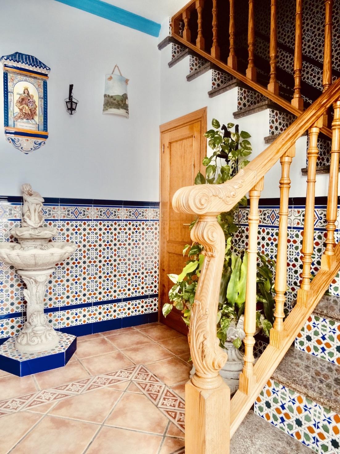 Moorish house Frigiliana Spain.
