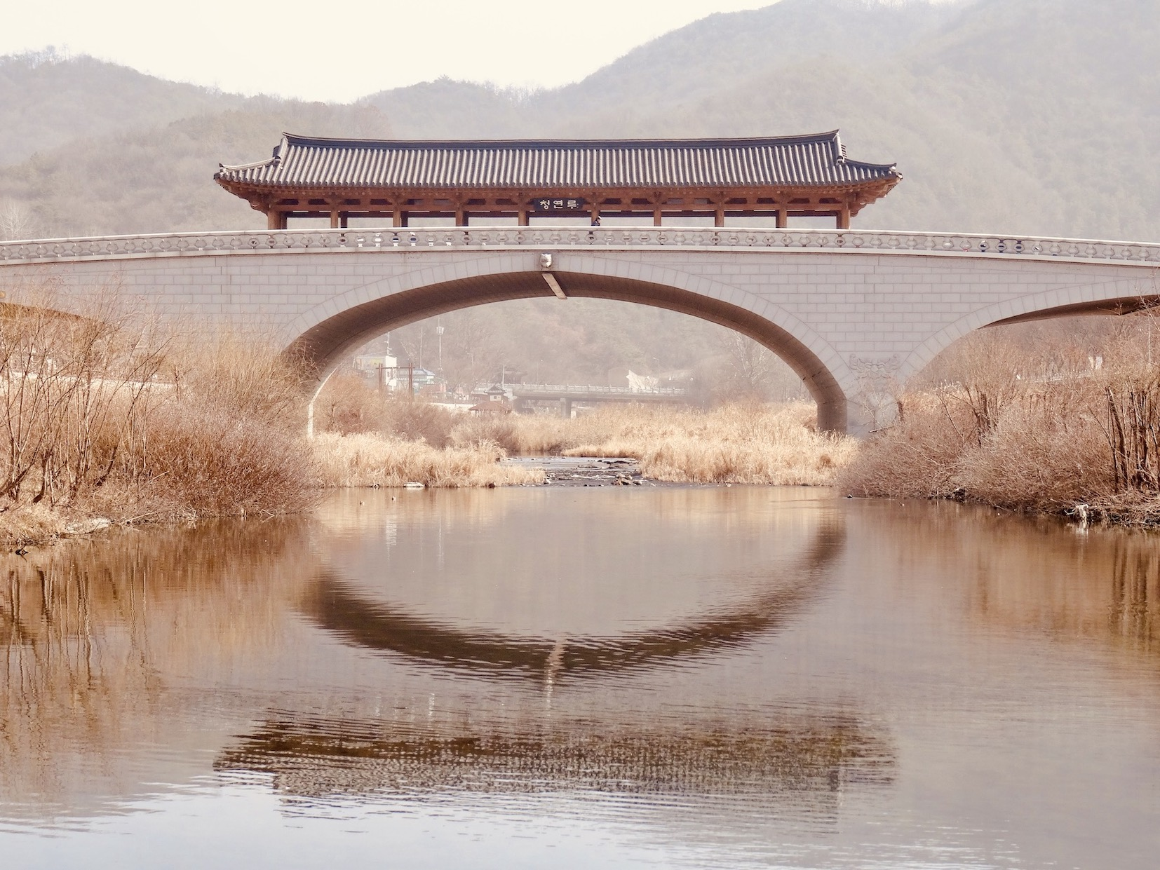 Namcheongyo Bridge South Korea.