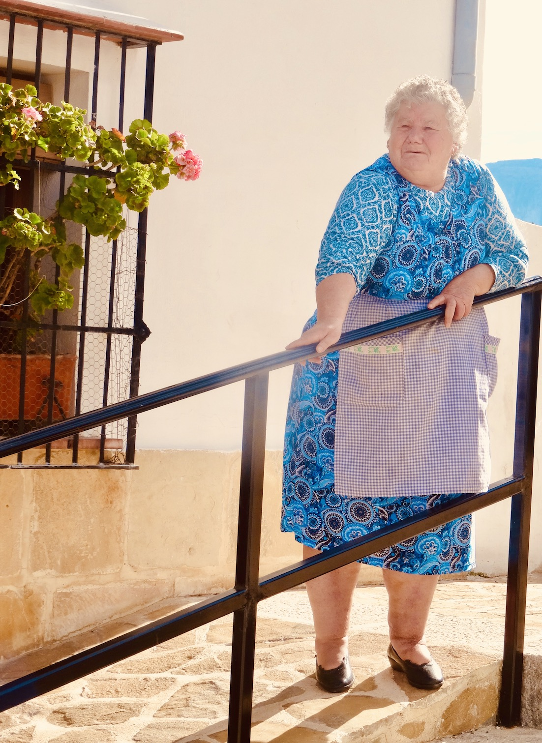 Old lady Antequera Spain.