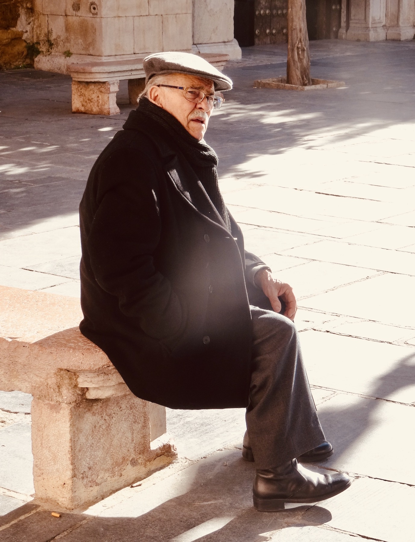 Old man Antequera Spain.