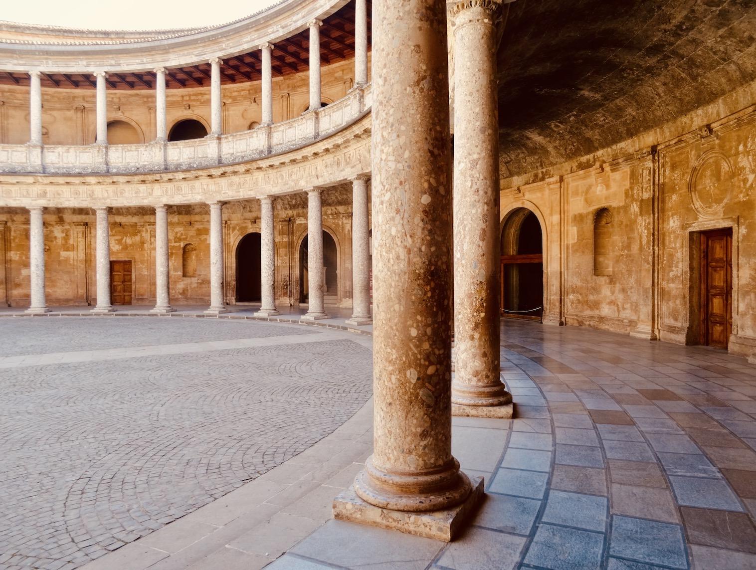 Palace of Charles V Granada.