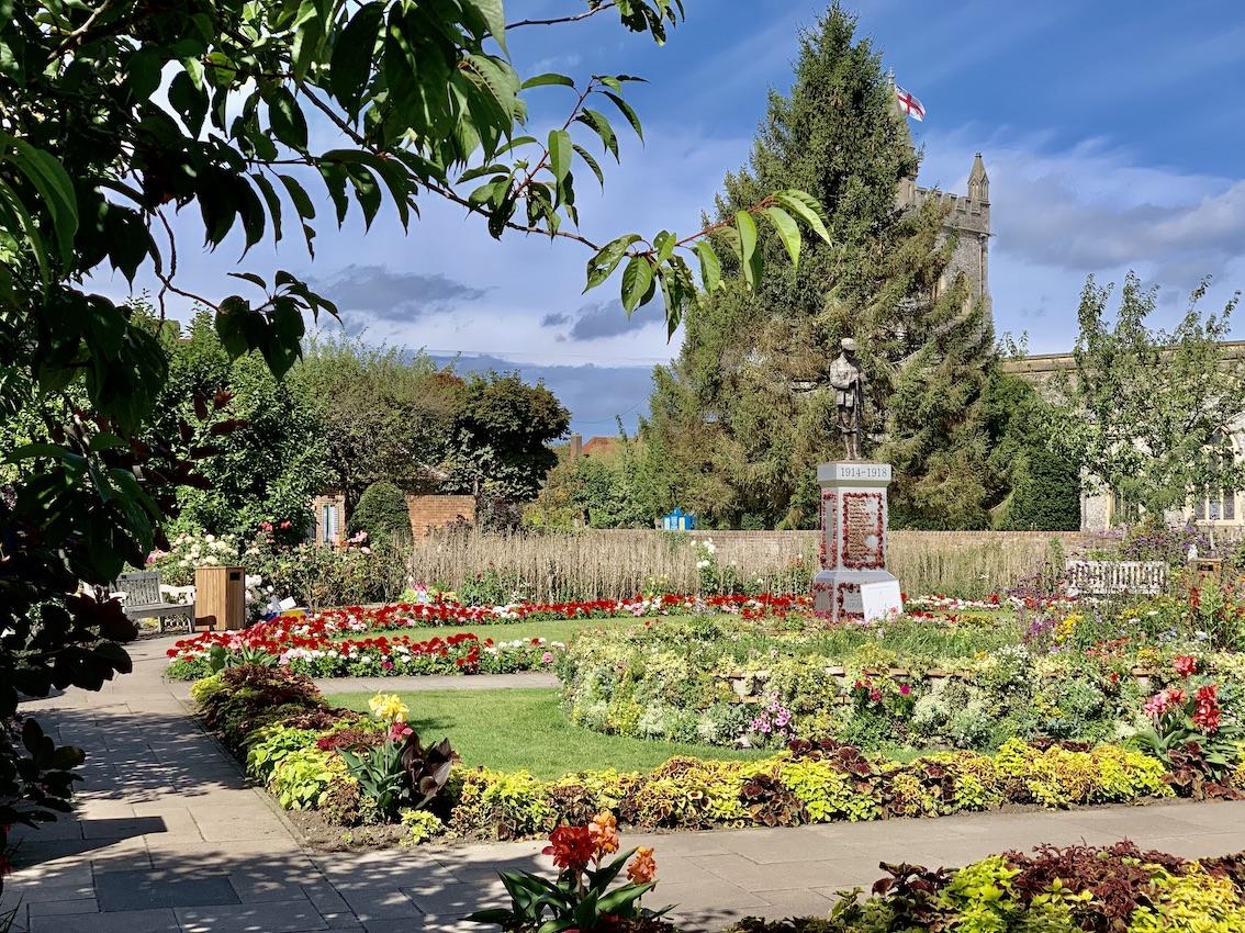 Peace Gardens Old Amersham.