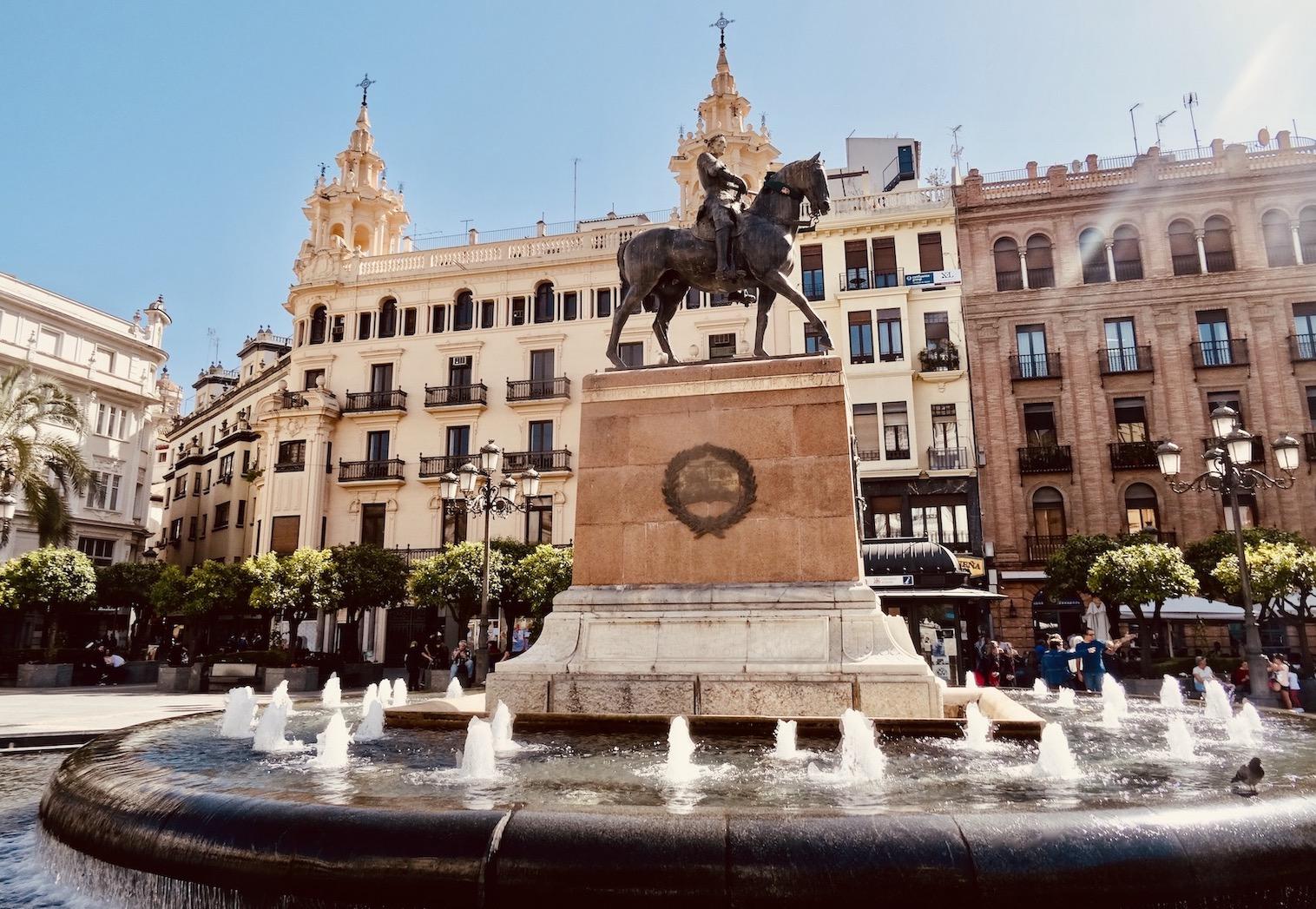 Plaza de Las Tendillas Cordoba.
