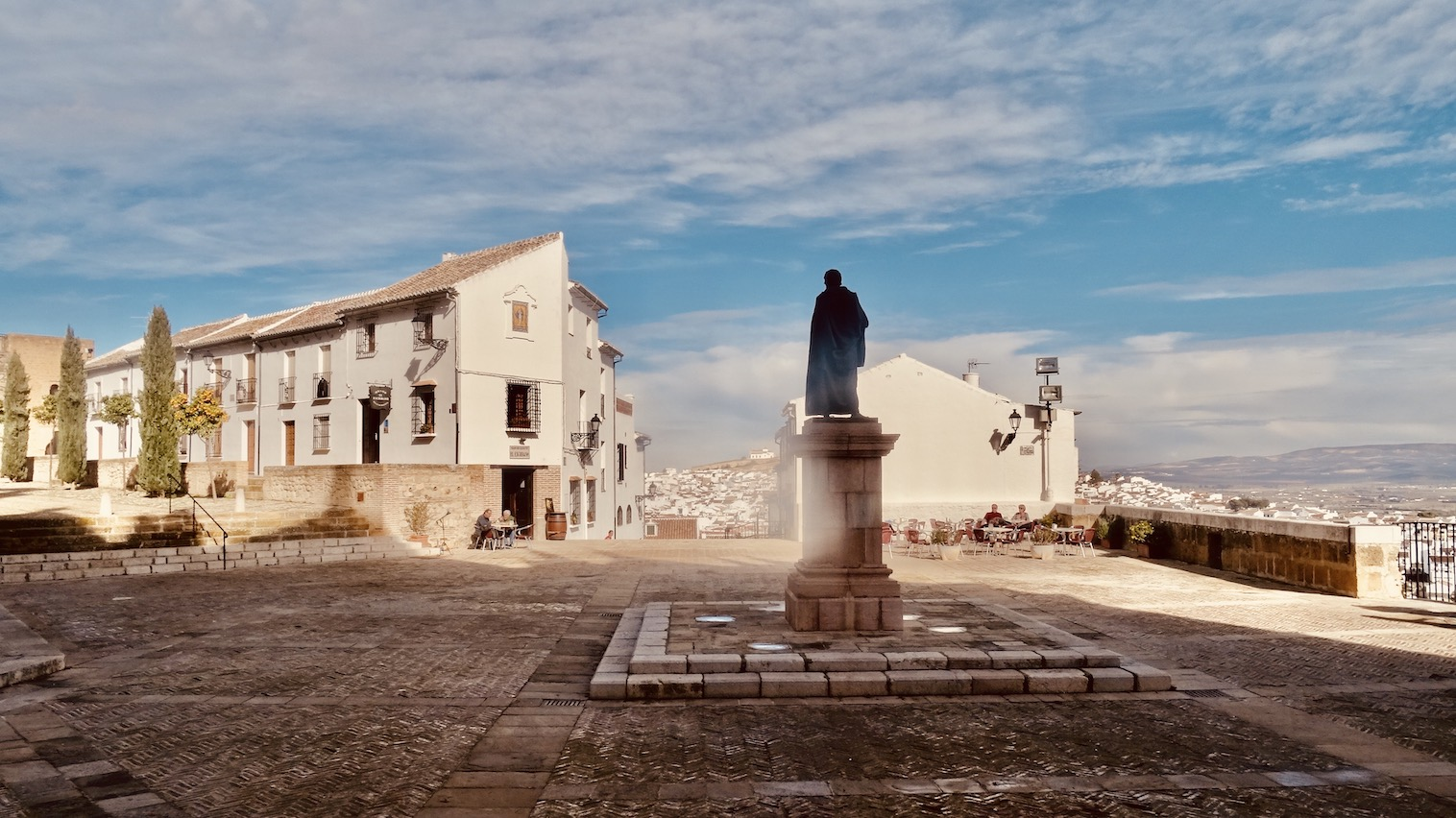 Plaza de Santa Maria Antequera.