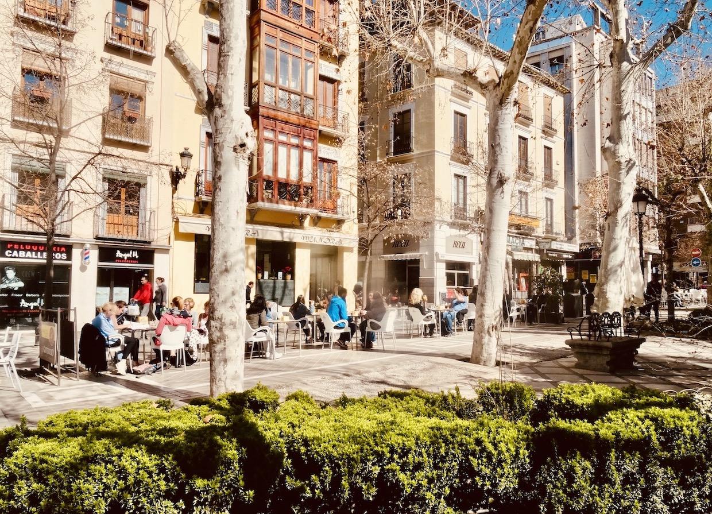 Plaza de la Trinidad Granada.