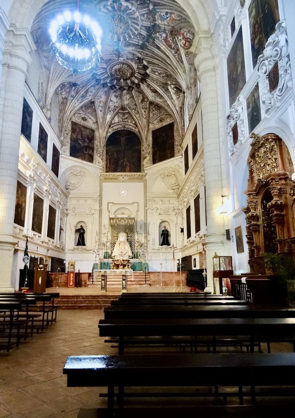 San Agustin Church Antequera.